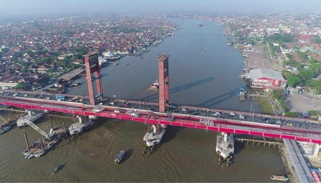 sungai terbesar di Indonesia