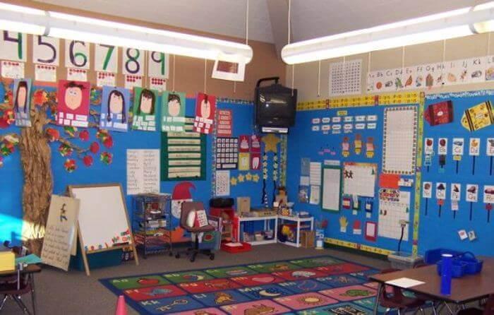 hiasan dinding kelas