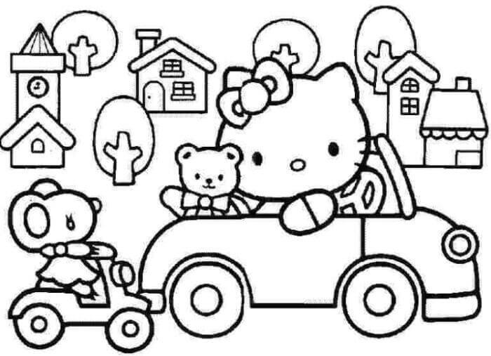 25 Kumpulan Gambar Hello Kitty Yang Lucu Dan Imut