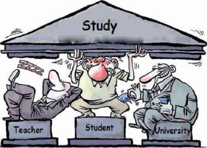karikatur pendidikan