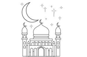 Gambar Masjid Mudah