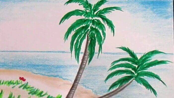 landscape picture for drawing