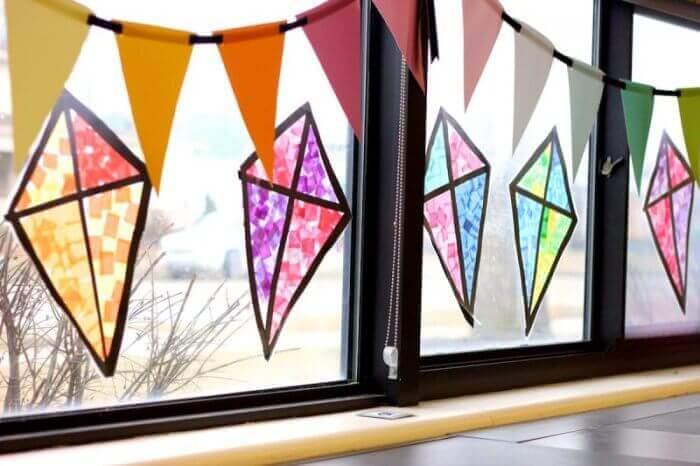 hiasan jendela kelas