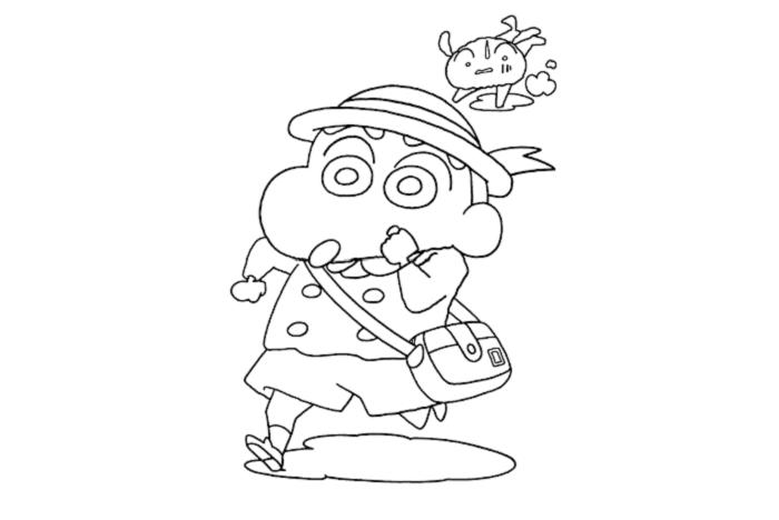 sketsa gambar kartun