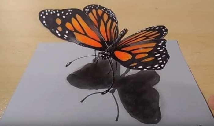 contoh gambar 3 dimensi hewan