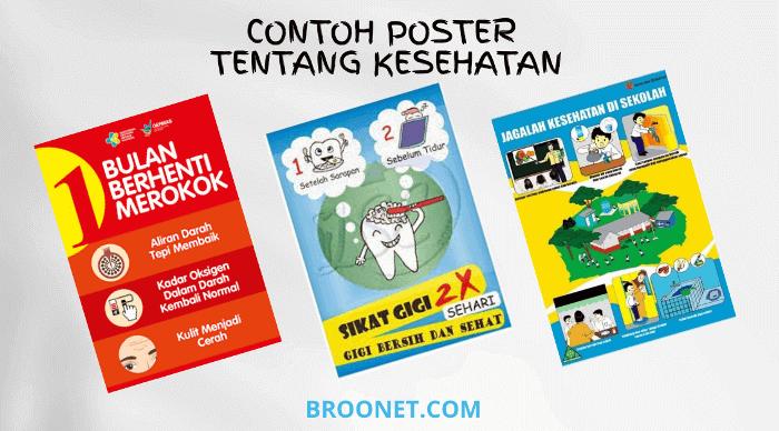 contoh poster kesehatan