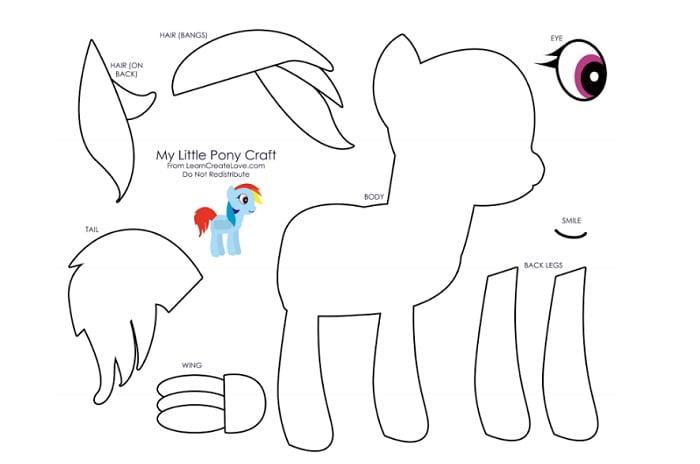 cara menggambar kuda poni