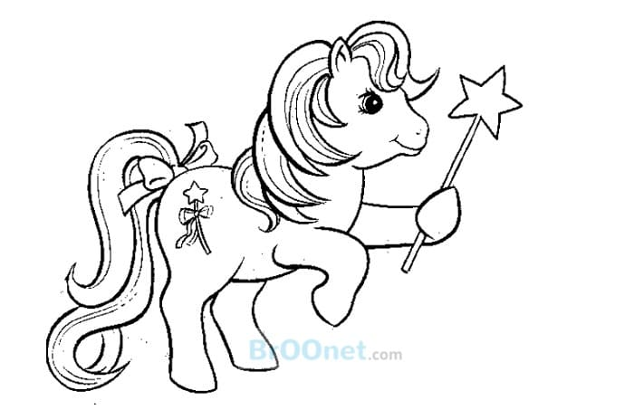 sketsa kuda poni