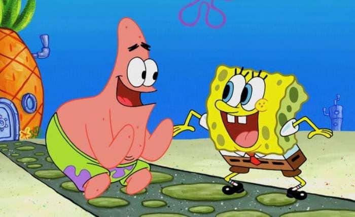 gambar spongebob keren