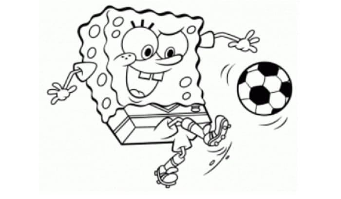 sketsa spongebob