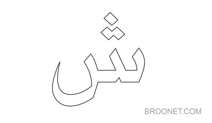 sketsa hijaiyah