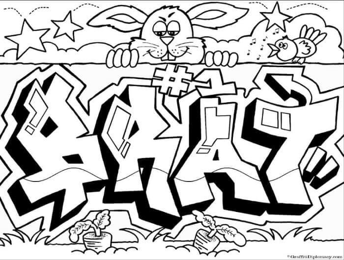 mewarnai grafiti