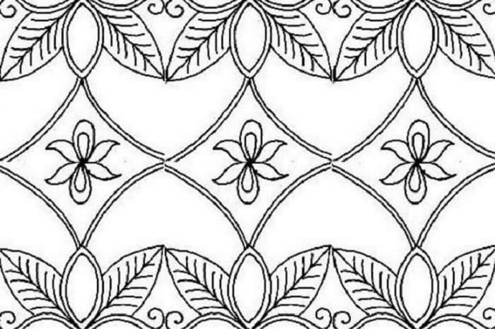 13 Contoh Gambar Batik Nusantara Dan Sketsa Broonet