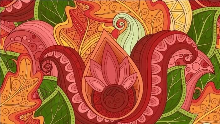 gambar dekoratif tumbuhan