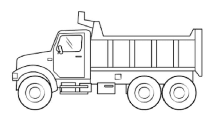 sketsa mobil